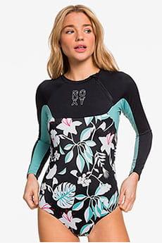 Женский купальник с длинным рукавом и молнией на груди Fitness UPF 50 Roxy