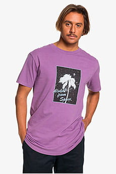 Футболка QUIKSILVER Ogalohass Crushed Grape