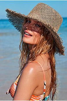 Женская соломенная шляпа Great Time Roxy
