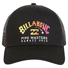 Бейсболка Billabong Pipe Trucker Black