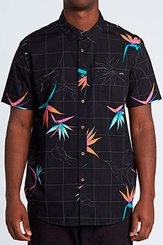 Рубашка Billabong Sundays Floral Ss Black/Orange