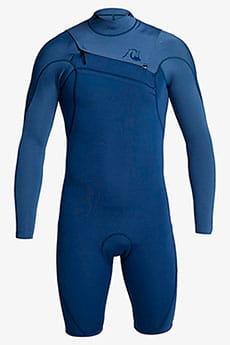 Мужской гидрокостюм с коротким рукавом и молнией на груди 2/2mm Highline Ltd Quiksilver