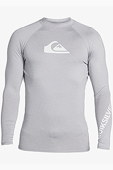 Футболка QUIKSILVER Alltimls M Sfsh Szph Sleet Heather