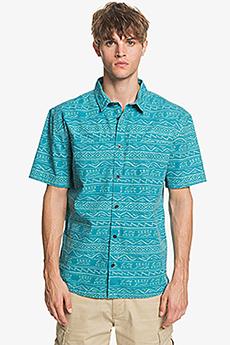 Рубашка QUIKSILVER Eqywt03962 Рубашка Quiksilver Heritageshirtss Pagoda Blue He