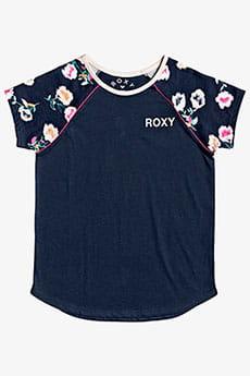 Футболка детская Roxy Under Water G Tees Bsp0 Mood Indigo