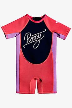Гидрокостюм детский Roxy Tg1.5 Syn Sssp T Xmmp Scarlet/ Hyacinth