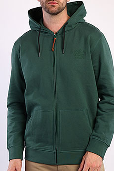 Толстовка Rip Curl На Молнии М Organic Fleece Forest Green