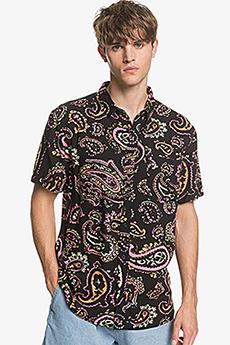 Рубашка QUIKSILVER Eqywt03955 Рубашка Quiksilver Fluidgeoss Black Microdose