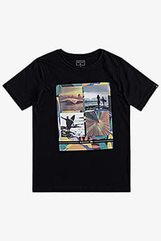 Футболка QUIKSILVER Youngeryearsyth Black