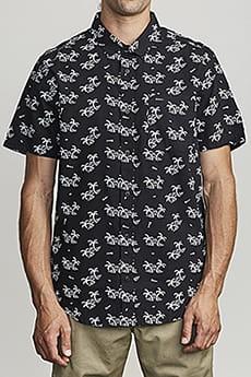 Рубашка Rvca Easy Palms Black