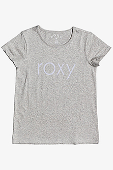 Футболка детская Roxy Endlesmusicfloc G Tees Sgrh Heritage Heather