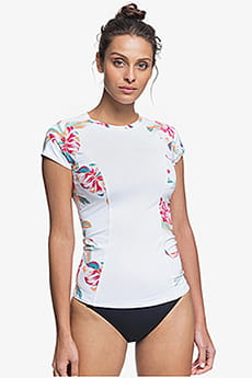 Женский рашгард с коротким рукавом Fashion Roxy