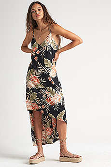 Платье женское Billabong The Best Floral Black