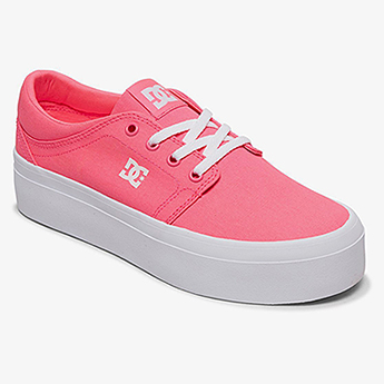 Кеды женские DC Shoes Trase Pltfrm Tx J Shoe 674 Hot Pink