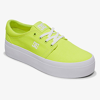Кеды женские DC Shoes Trase Pltfrm Tx J Su0 Bright Yellow