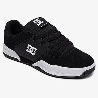 Полуботинки DC Shoes Central M Shoe Bkw Black/White