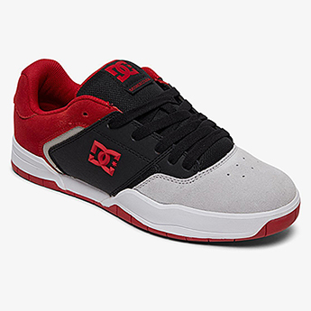 Полуботинки DC Shoes Central M Shoe Xkrs Black/Red/Grey