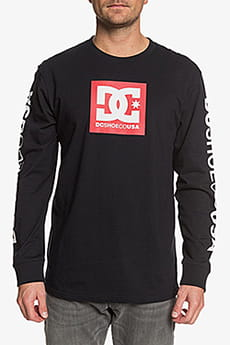DC Shoes Squarestarls2 M Tees Xkkr Black/Red P