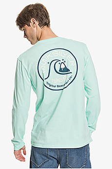 Лонгслив QUIKSILVER Closecallls Tees M Gcz0 Beach Glass