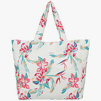 Сумка женская Roxy Anti Bd Vbes Pt J Tote Wbb7 Bright White Tropic
