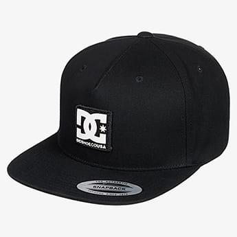 Бейсболка с прямым козырьком DC Shoes Snapdripp Black
