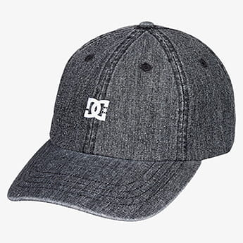 Бейсболка DC Shoes Uncle Fred Black Rinse