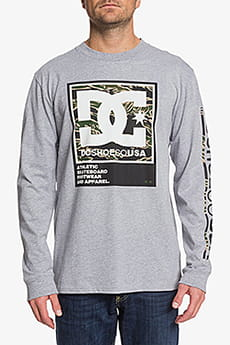 Свитшот DC Shoes Arakana Grey Heather-12
