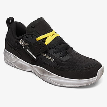 Кроссовки DC Shoes E.tribeka Zip Black/Yellow/Yellow