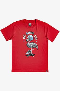 Футболка детская для мальчиков DC Shoes Mingoback Tees Racing Red