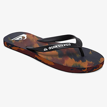 Вьетнамки QUIKSILVER Molokai Marled Sndl Black/Blue/Red