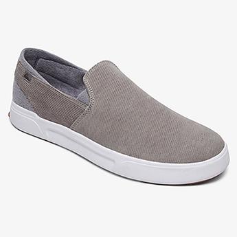 Слипоны QUIKSILVER Surfcheckiiprem Shoe Grey/Grey/White30-160