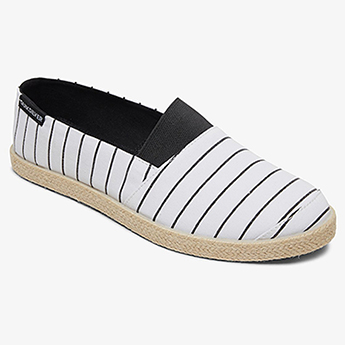 Лоферы QUIKSILVER Espadrilled M Shoe Xwkw White Black White37-184