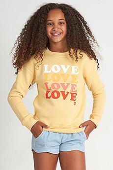 Джемпер детский Billabong So Much Love Yellow Д
