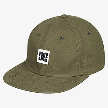 Бейсболка DC Shoes Died Out Fatigue Green