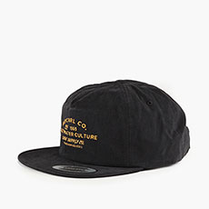Бейсболка классическая Rip Curl Supply Co Sb Cap 8264 Washed Black Tu Co