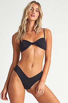 Бюстгальтер женский Billabong S.s Knotted Bandeau Black Pebble