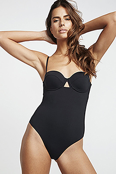 женский Billabong Купальник S.s Underwire 1 Pc Black Pebble