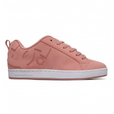Женские DC Shoes Полуботинки Типа Кед Court Graffik J Shoe Ros Rose