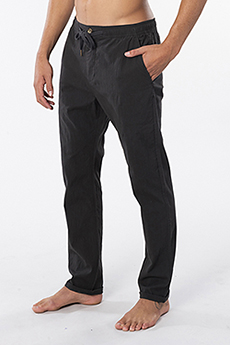 Штаны прямые Rip Curl Ripple Straight Pant Washed Black
