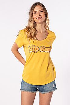Футболка Rip Curl Big Mama Tee Yolk Yellow