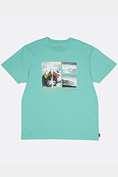 Футболка Billabong Crash Tee Ss Light Aqua