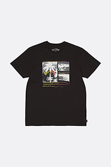 Футболка Billabong Crash Tee Ss Black