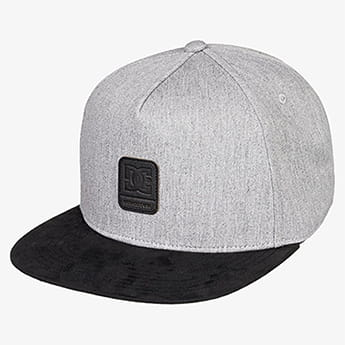 Бейсболка детская DC Shoes Brackers Boy Grey Heather