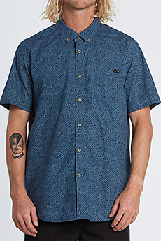 Рубашка Billabong Sundays Mini Ss Dark Blue