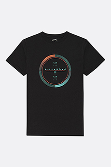 Футболка Billabong Full Rotator Ss Tee Black