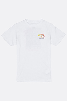 Футболка Billabong Pipe Master Ss Tee B White
