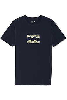 Футболка Billabong Team Wave Tee Ss Navy