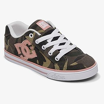 Женские кроссовки DC Shoes Кед Chelsea Tx Se G Shoe Cmo Camo