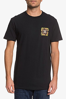 Футболка DC Shoes Shattered Ss M Tees Kvj0 Black