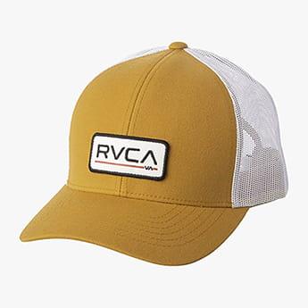 Бейсболка с сеткой Rvca Ticket Trucker Iii Chestnut